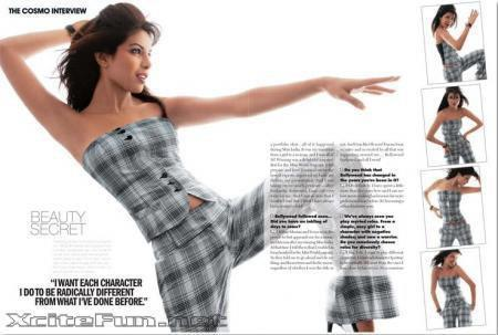 Priyanka Chopra Stylish Photo Shoot For Cosmopolitan Magazine