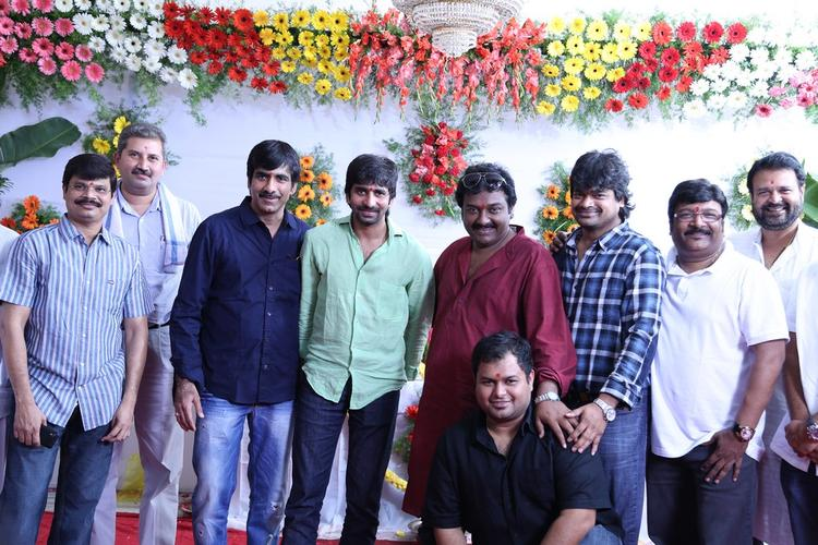 Ravi,Gopichand And Others Clicked At Balupu Movie Opening Event