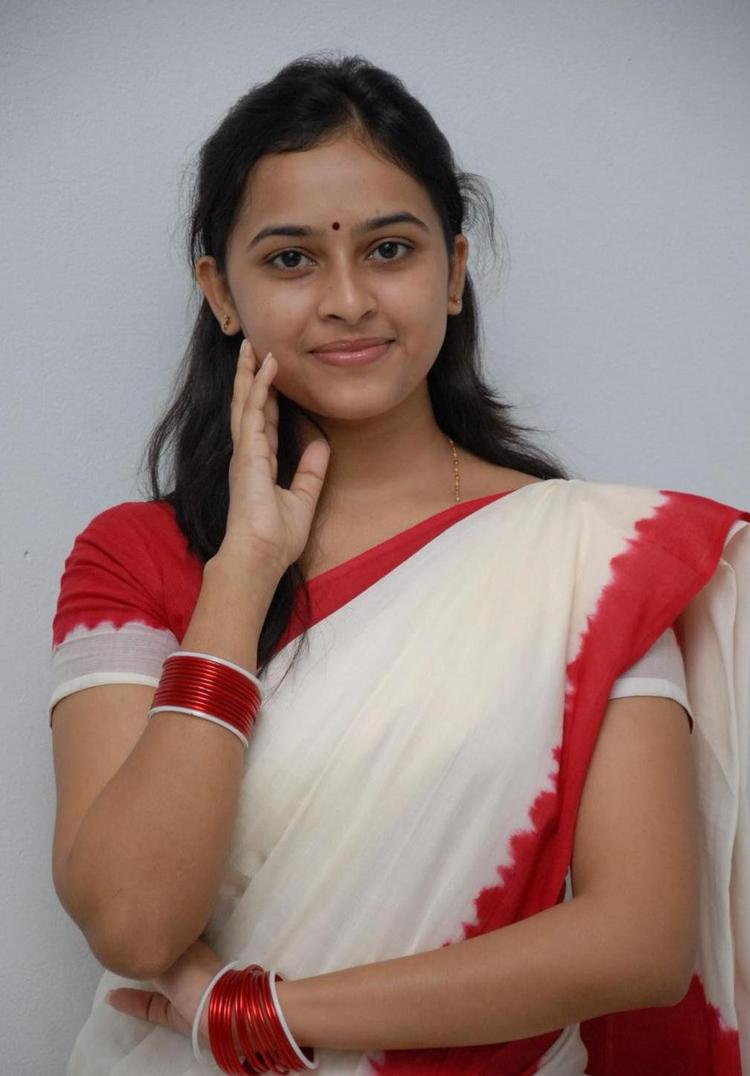 Sri Divya Cute Smiling Still
