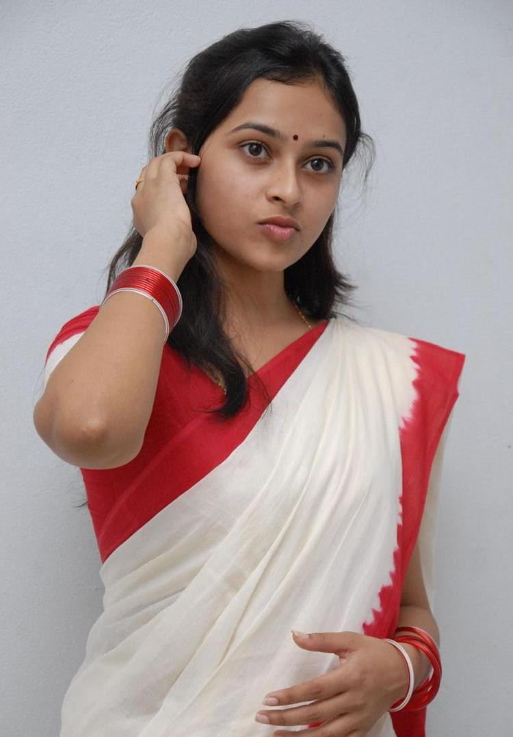 Sri Divya Exclusive In Saree Still