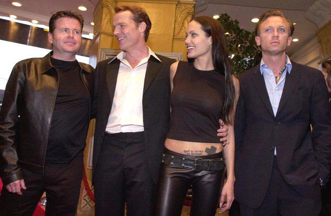 Daniel Craig And Angelina Jolie Still