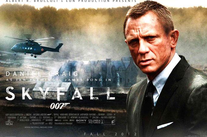 Daniel Craig Anger Look Still