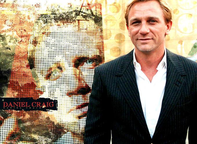 Daniel Craig Cute Smiling Still