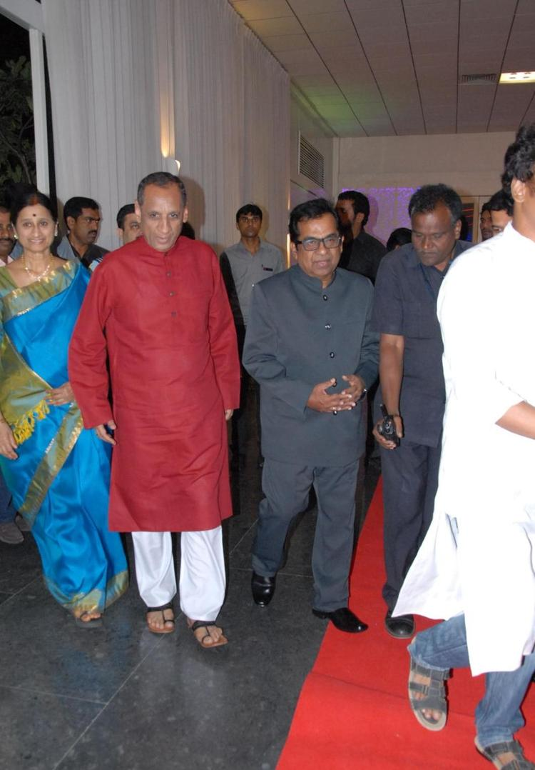 Governor ESL Narasimhan Attend The Marriage Ceremony Of Brahmanandam Son Gautham