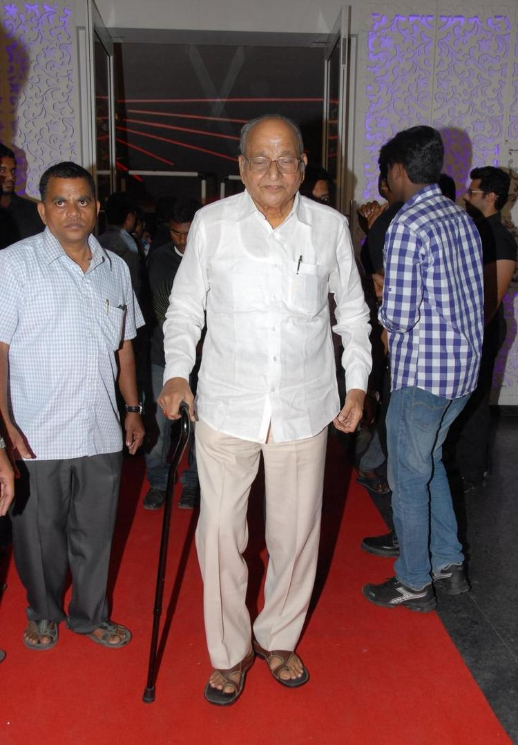 K Viswanath Spotted At Brahmanandam Son Goutham Marriage