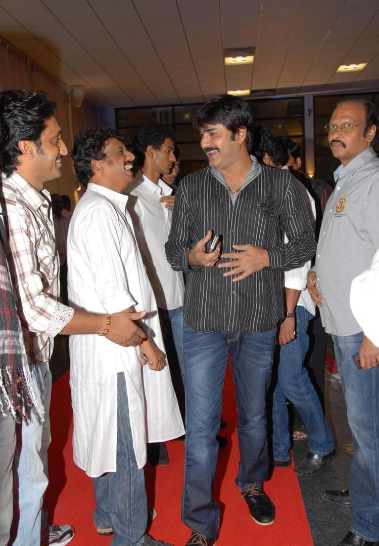 Srikanth Cool Look Still At Brahmanandam Son Goutham Marriage