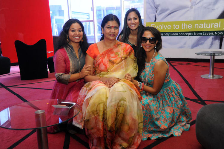 Lakshmi,Nirmala And Others Clicked At Denikaina Ready Premiere Show