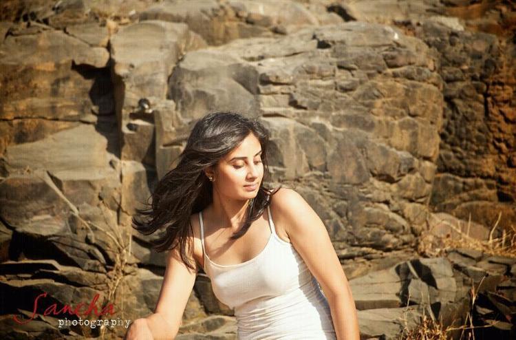 Bhanu Sri Mehra Stunning Face Look Photo Shoot
