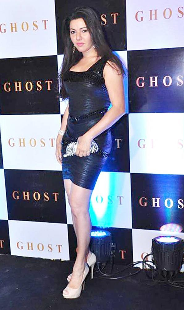 Kehkashan Patel Clicked At Ghost Club Launch