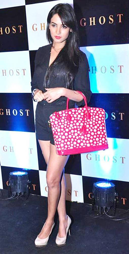Sonal Chauhan Attend The Launch Party Of Ghost Club