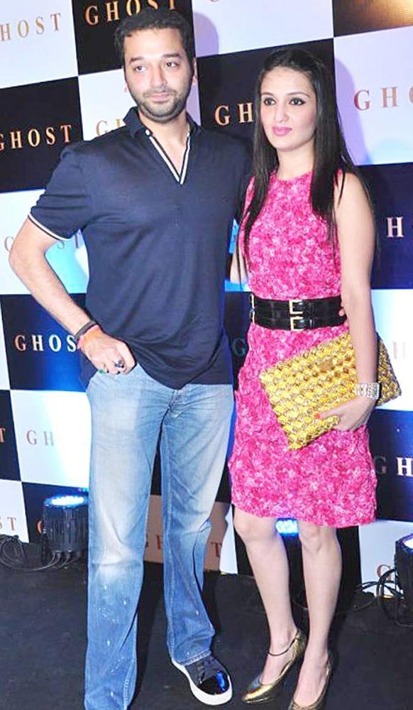 Sunny Dewan And Anu Dewan Spotted At Ghost Club Launch