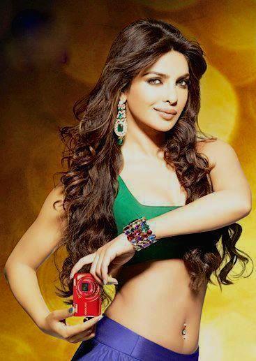 Priyanka Sexy Navel Expose Hot Photo Shoot With Nikon Camera