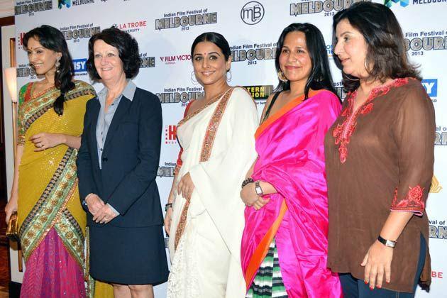 Vidya,Dipannita And Farah Clicked At Indian Films Exhibition In Australia