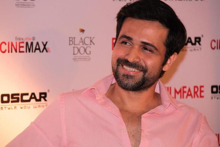 Bollywood Kissing Master Emraan Smiling Still At Filmfare Magazine Launch
