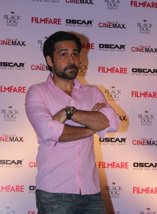 Emraan Hashmi Clicked At Filmfare Magazine Launch