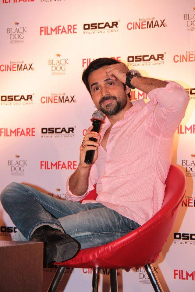 Emraan Hashmi Spotted At Filmfare Magazine Launch Event