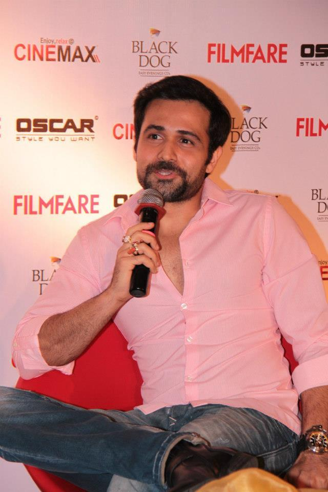 Emraan Hashmi Spotted At Filmfare Magazine Launch