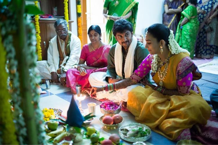 Nani And Anjana Wedding Still