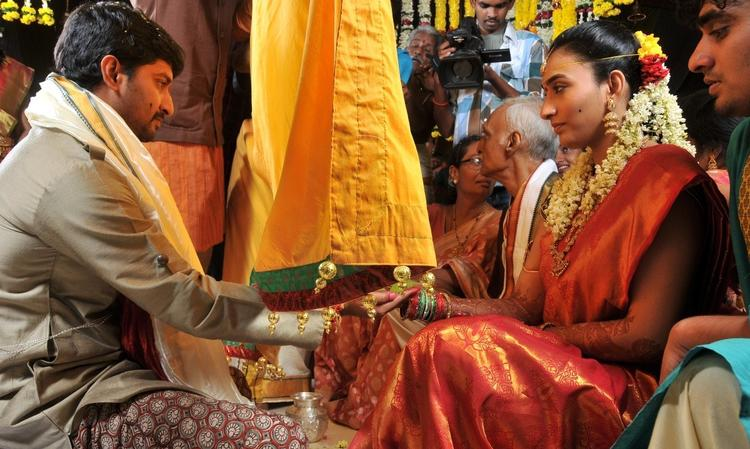 Nani And Anjana Yelavarthy Marriage Held At Vizag Still