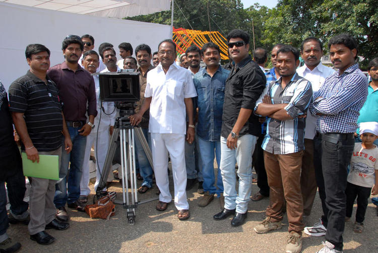 The Team At AG & AG Entertainments Untitled Film Muhurat