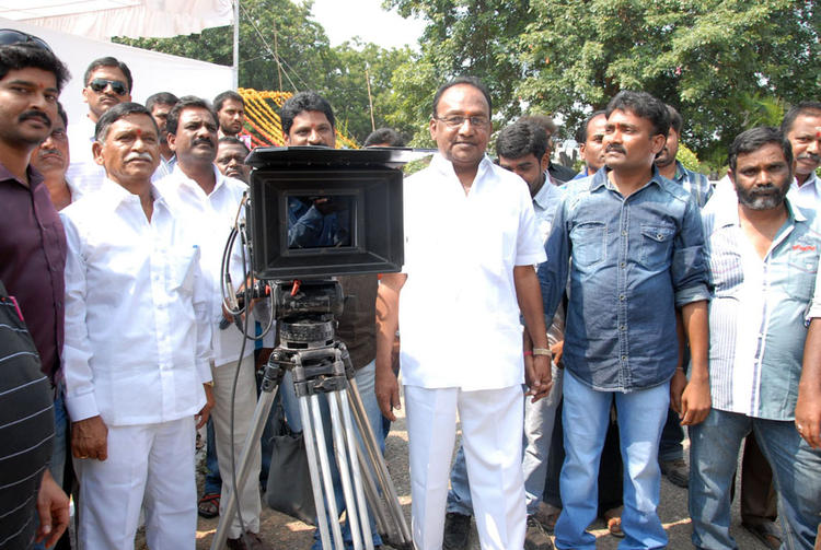 The Team Members At AG & AG Entertainments New Movie Launch Stills