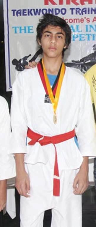 Aryan Khan At National Taekwondo Training Camp