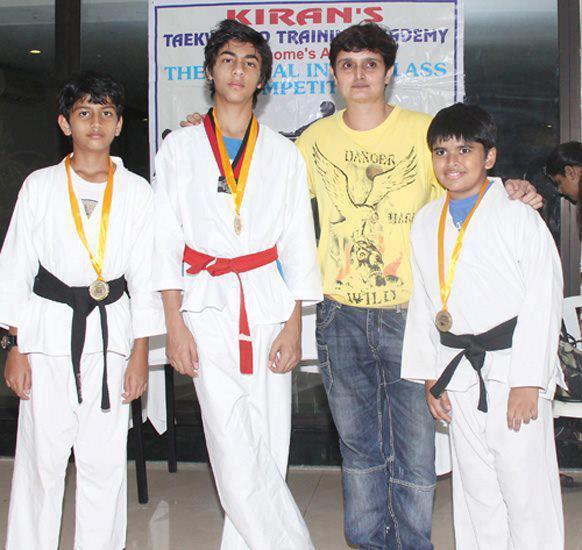 Aryan Kicks His Way To A Black Belt At National Taekwondo Training Camp