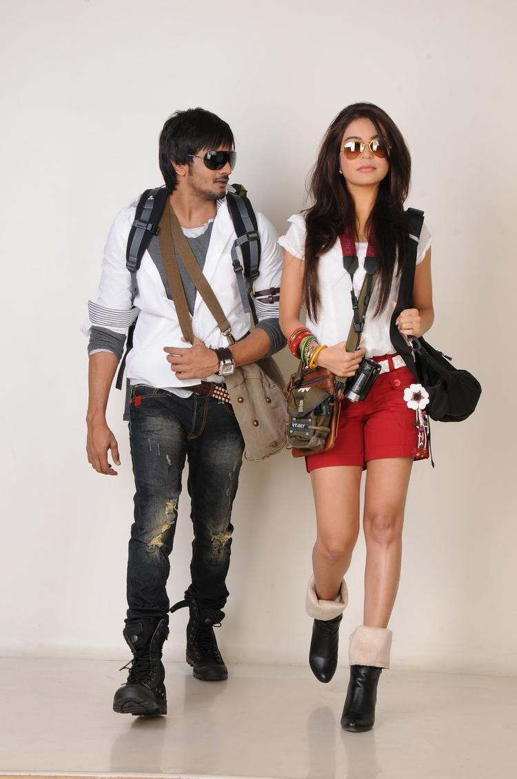 Ram Shanker And Adonika Awesome Photo From Movie Romeo