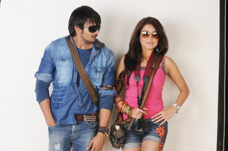 Ram Shanker And Adonika Gergeous Pic  From Movie Romeo
