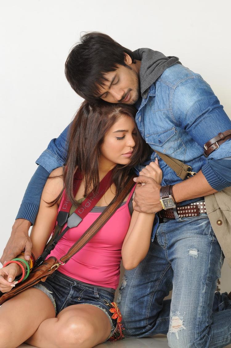 Ram Shanker And Adonika Hot Photo Shoot From Movie Romeo