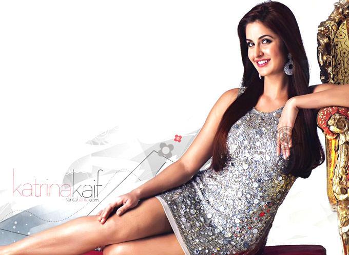 Katrina Kaif Sexy Legs Show  With Cute Smile Still