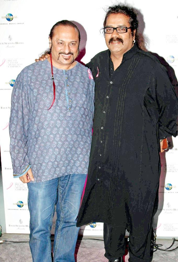 Leslie And Hariharan At Estee Lauder Breast Cancer Awareness Campaign Bash
