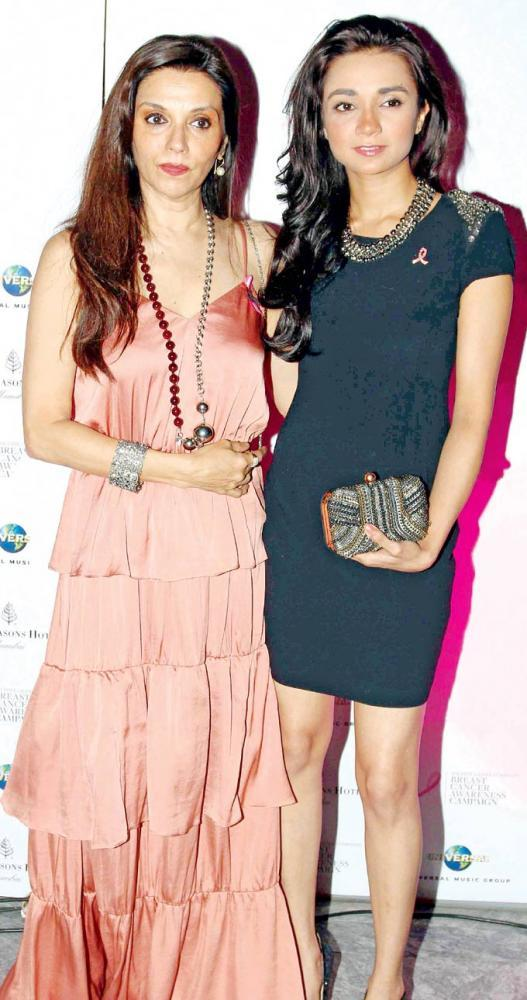 Lillete And Ira Spotted At Estee Lauder Breast Cancer Awareness Campaign Bash