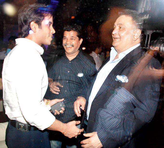 Tusshar,Sanjay And Rishi Share A Laugh At Hungama Ho Gaya Album Launch