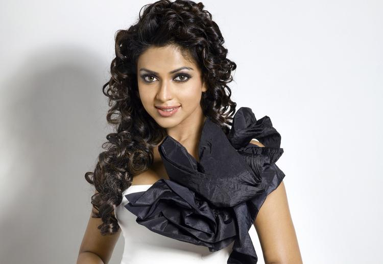Amala Paul Looking Gorgeous In Flowing Hair Still