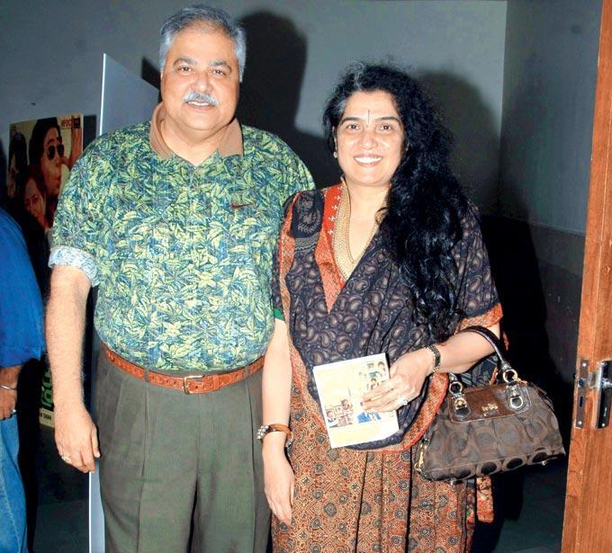Satish Shah At Jaane Bhi Do Yaaron Special Screening