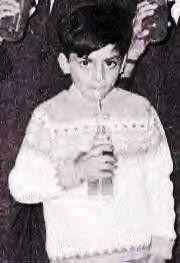 Shahrukh Khan From His Childhood Album