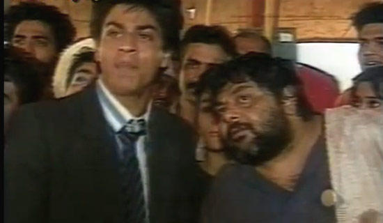 SRK In A Still From The Serial Circus