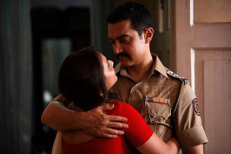 Aamir And Rani Romance Mood Photo From Movie Talaash