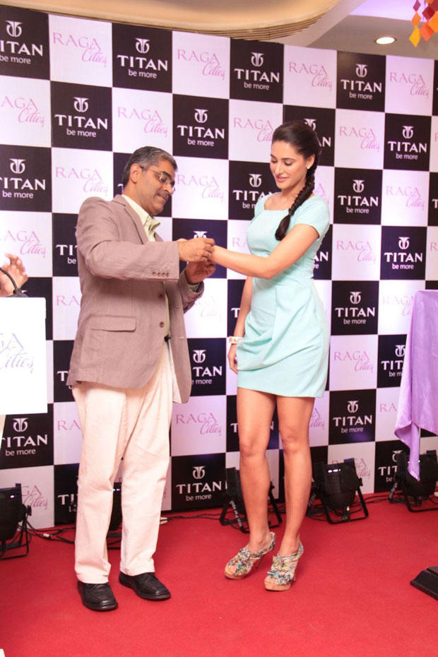 Nargis Fakhri Launches A New Collection From Titan Raga