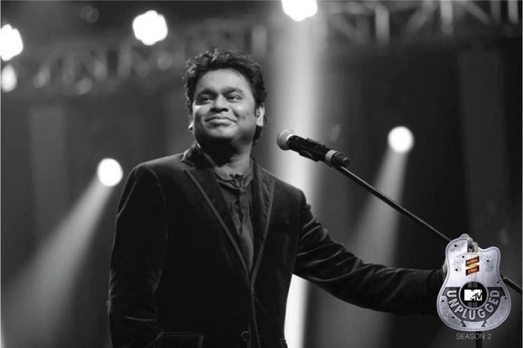A.R Rahman Smiling Still From  MTV Unplugged Season 2