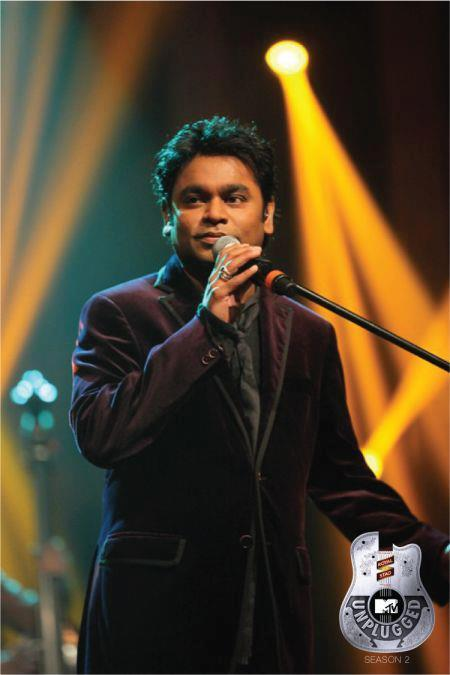 A.R Rahman Spotted On Royal Stag Mega Music MTV Unplugged Season 2