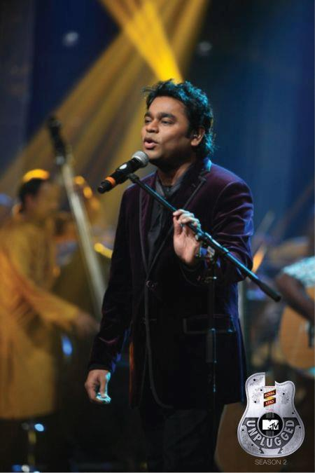 A.R.Rahman Photo Clicked During Singing Song