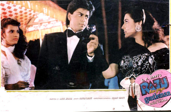 Shahrukh And Amrita In Raju Ban Gaya Gentleman