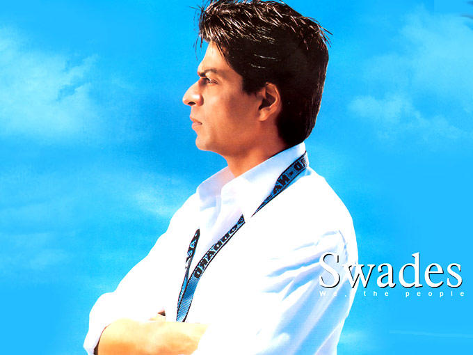 Shahrukh Khan As A Patriot Role In Swades