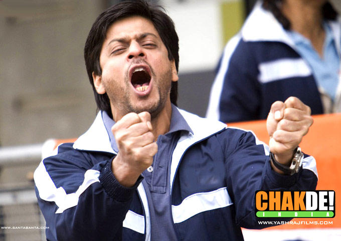 Shahrukh Khan Played As A Hockey Coach In Chak De! India