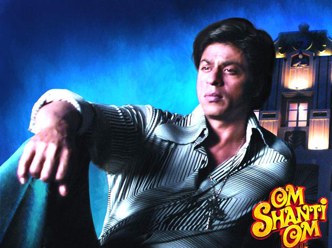 Shahrukh Khan As The Reborn Star In Om Shanti Om