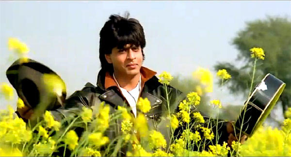 Shahrukh Plays A Romantic Guy Role In Dilwale Dulhania Le Jayenge
