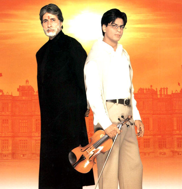 Shahrukh Plays An Unconditional Lover In Mohabbatein