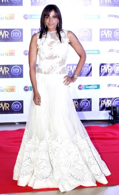 Manasi Scott Clicked At The Premiere Of Skyfall